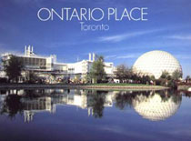 Ontario Place, located in Toronto Ontario Canada