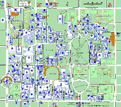 u of t campus map University Of Toronto Toronto Ontario Canada