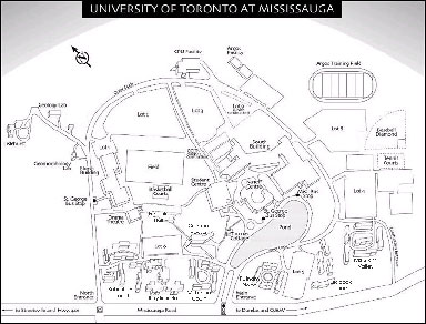 University of Toronto - Mississauga Campus Map